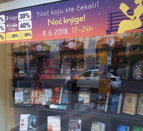 Andrija Jonić - Potpisivanje kniga i druženje sa čitaocima - Noć knjige 2018 - Delfi knjižare (0)